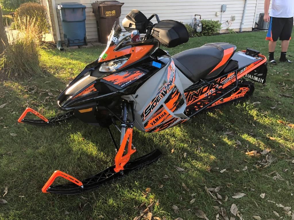 2017 Yamaha SIDEWINDER X-TX LE 141, Fort Wayne IN - - SnowmobileTrader com